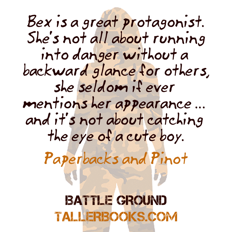 Bex is a great protagonist