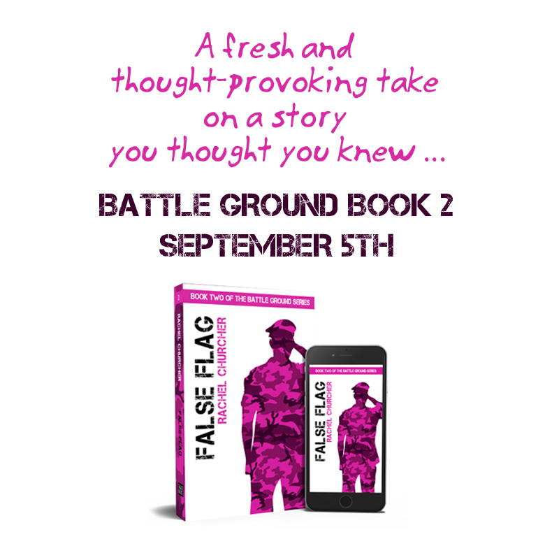Advert for False Flag, Book 2 of the Battle Ground series