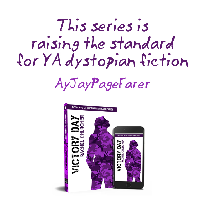 This series is raising the standard for YA dystopian fiction, says AyJayPageFarer