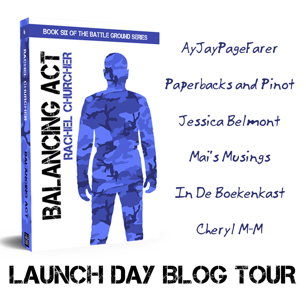 Launch Day Balancing Act Blog Tour - list of participating bloggers