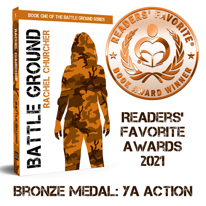 A bronze medal for Battle Ground in the Readers' Favorite Book Awards